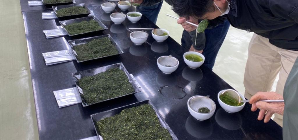 新茶の製造に向けて互評会を開催